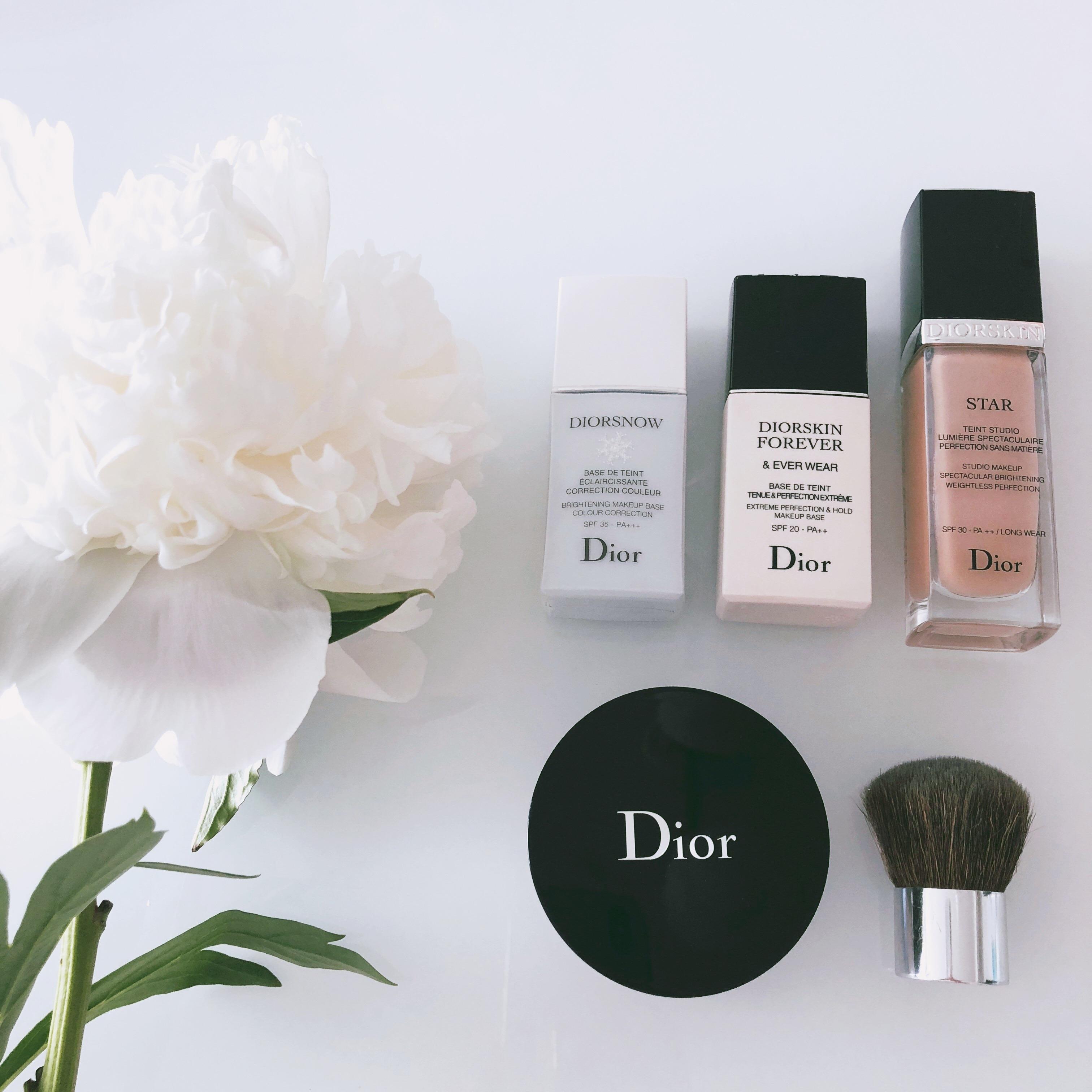 <Dior>ALL Diorで作る光り輝くツヤ肌