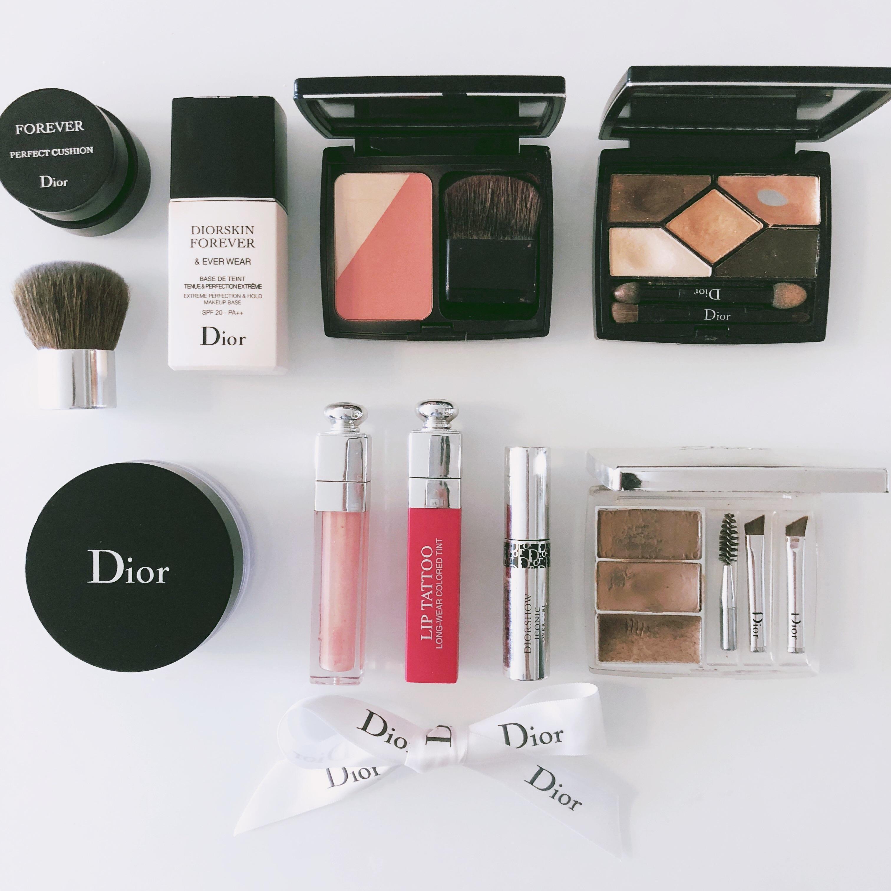 <Dior>ALLディオールコスメでメイク!リアルな商品レビュー!