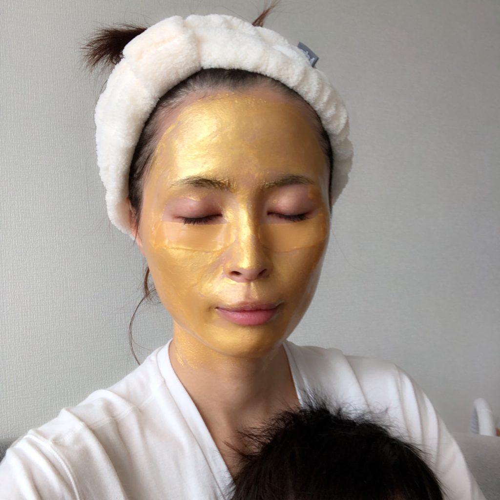 OMGのフェイスマスク