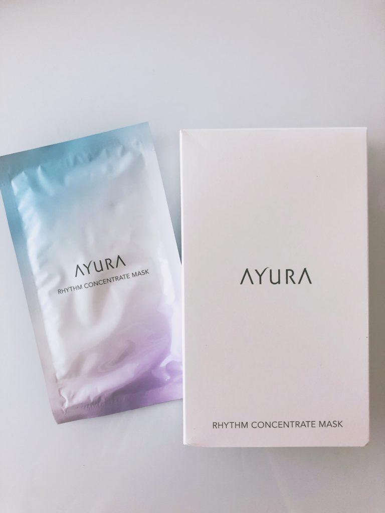 AYURAのリズムコンセントレートマスク