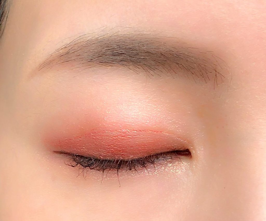 STAY IT TWIN EYE SHADOWアイシャドウ01BRONZE CORAL