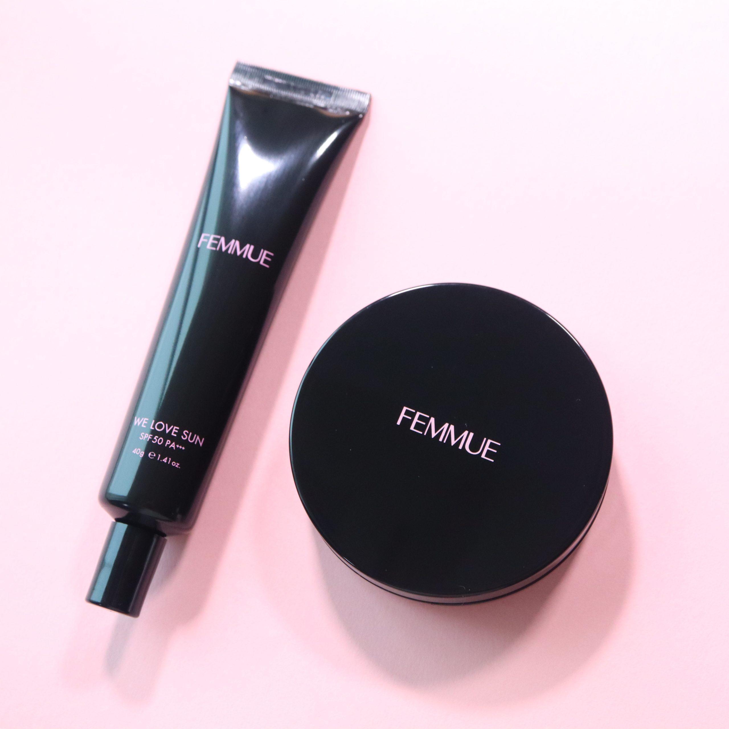 <2020年新作>FEMMUE(ファミュ)のトーンアップUVクリームとクッションファンデでナチュラルツヤ肌